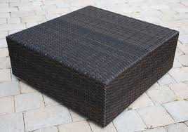 rattan coffee table outdoor outdoor wicker coffee table