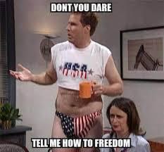 Speedo Meme - mrw i m walking through the store with my american flag speedo and