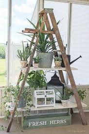 best 25 wooden ladder decor ideas on pinterest wooden ladders