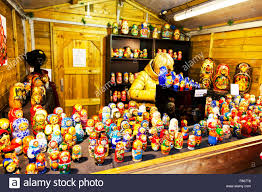 russian dolls doll nesting on sale stall selling ornaments lincoln