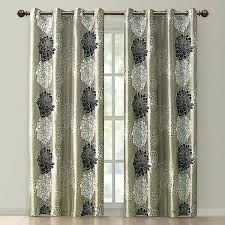 Black Gold Curtains Black Gold Curtains Gold Black Modern Floral Grommet Curtain Panel