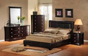 bedroom simple modern bedroom set design ideas with black low