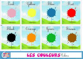 Couleurs En Anglais Francais Monde Des Petits Apprendre En Vidéo