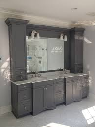 Bathroom Cabinet Ideas Top Bathroom Cabinet Hardware Ideas With Cool Mirrored Surface