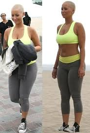 amber rose shoots scenes for her reality show reggie bush s new