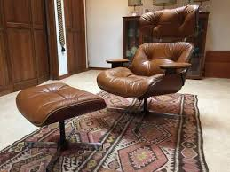 Herman Miller Lounge Chair And Ottoman by Mid Century Eames Style Lounge Chair And Ottoman Epoch