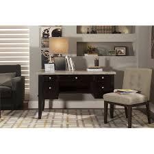 Sofa Desk Table by City Furniture Monark Marble Writing Desk