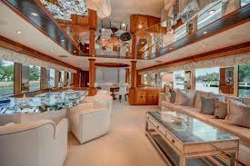 Yacht Interior Design Ideas Hatteras Motor Yacht For Sale Main Salon Arafen