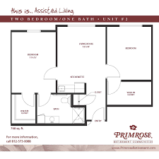 Two Bedroom Floor Plans One Bath Apartment Sizes And Floor Plans For Newburgh In Primrose
