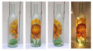 Wine Bottles With Lights Front Porch Studio Wine Bottle Lights