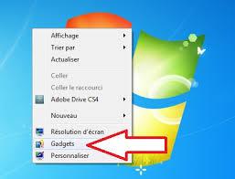 gadget bureau windows 7 bureau windows 7 bureau windows 7 astuces pour ic nes arri re plan