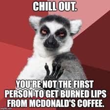 Chill Meme - chill out lemur meme generator imgflip