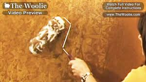 short clips rag roller painting technique by the woolie how to paint walls fauxpainting you