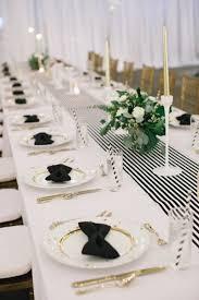 mariage et blanc inspiration mariage de printemps en noir et blanc deco mariage