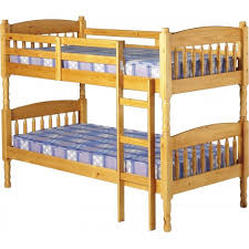 White Wooden Bunk Beds For Sale Solid Pine Wood Bunk Bed With Mattresses And Drawers 160x70