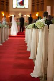 pew decorations for weddings diy church pew decorations search saying i do