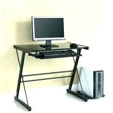 Computer Desks Black Black Glass Computer Desks Eatsafe Co