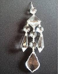 Chandelier Parts Crystal 100pcs Diy Crystal Chandelier Pendant Crystal Chandelier Parts