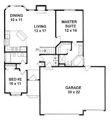 smart idea 2 bedroom house plans with garage and basement best 25