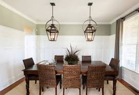 Lantern Dining Room Lights Hanging Electric Yoke Lanterns Dining Table Traditional