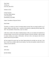 daycare termination letter u2013 9 free word pdf documents download