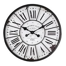 decorating creative wood oversized wall clock with black hand for