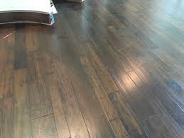hickory wood flooring refinished stairs landing glen kernan