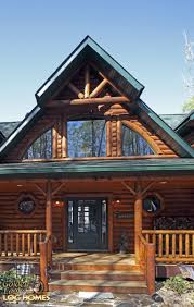 golden eagle log and timber homes log home cabin pictures main entrance
