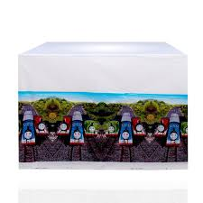 train table with cover thomas train theme table cover tz011 l at rs rs 206 00 return