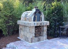 Backyard Brick Pizza Oven Brickwood Ovens Slaughter Family Natural Stone Wood Fired Oven