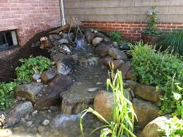 small pondless waterfall c e pontz sons landscape contractors