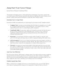 Human Resources Resume Objective Resume Objective Examples Career Change Resume Samples Within