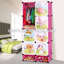 ethiopian bedroom furniture kids folding cupboard plastic storage