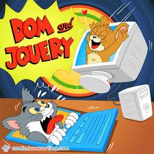 tom jerry jquery jokes developer comics cartoons
