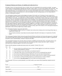 liability waiver form 11 free pdf documents download free