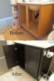 staining oak cabinets darker before and after everdayentropy com