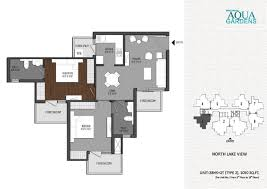 Garden Floor Plan by Floor Plan Aqua Garden Greater Noida West Shrigroupaquagardens Com