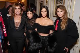 kim kourtney kardashian turn out to buro 24 7 u0027s cocktail in paris
