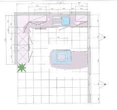 taille plan de travail cuisine dimension plan de travail maison françois fabie