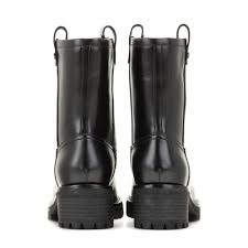 over the ankle boots for motorcycle tory burch foster leather boots in black lyst