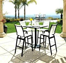 bar top table and chairs bar height patio table and chairs modern best outside stools set at