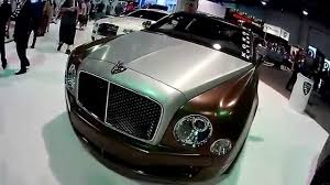 bentley mulsanne custom bentley mulsanne two tone custom sema 2015 tour 11 3 15 youtube