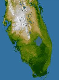 Map Of South Florida by Elevation Of Southern Florida Image Of The Day
