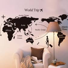 Diy World Map by