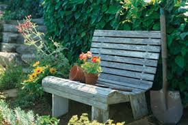 cut the back supports how to build a garden bench this old house
