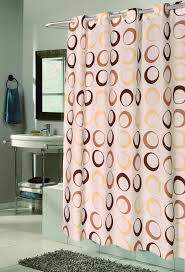 Brown Waffle Weave Shower Curtain by Carnation Home Fashions Inc
