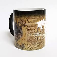 Harry Potter Marauders Map Aliexpress Com Buy New Light Magic Mugs Marauders Map Always Mug