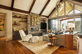 lighting on exposed beams 32 spectacular living room designs with exposed beams pictures