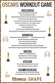 Oscar Dinner Ideas Academy Awards Oscar Night Workout Game Fitness Magazine