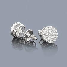 illusion earrings diamond 46 best diamond studs images on diamond earrings